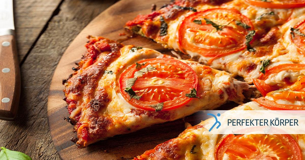 Kalorienarme Fit-Pizza – glutenfrei