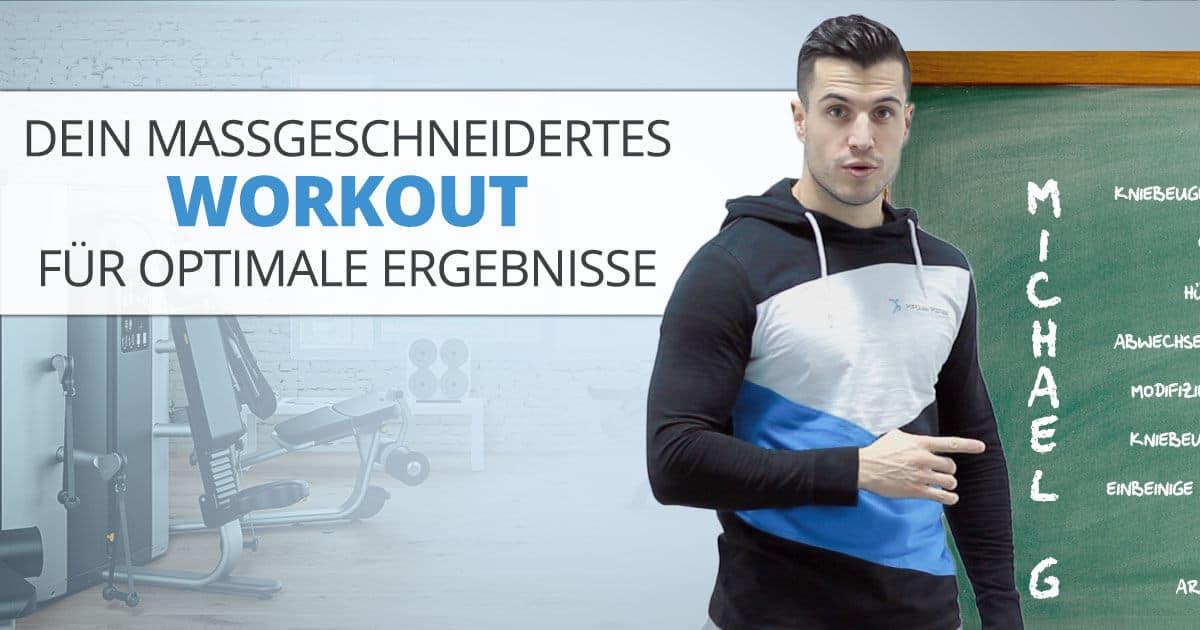 Dein maßgeschneidertes Workout für optimale Ergebnisse