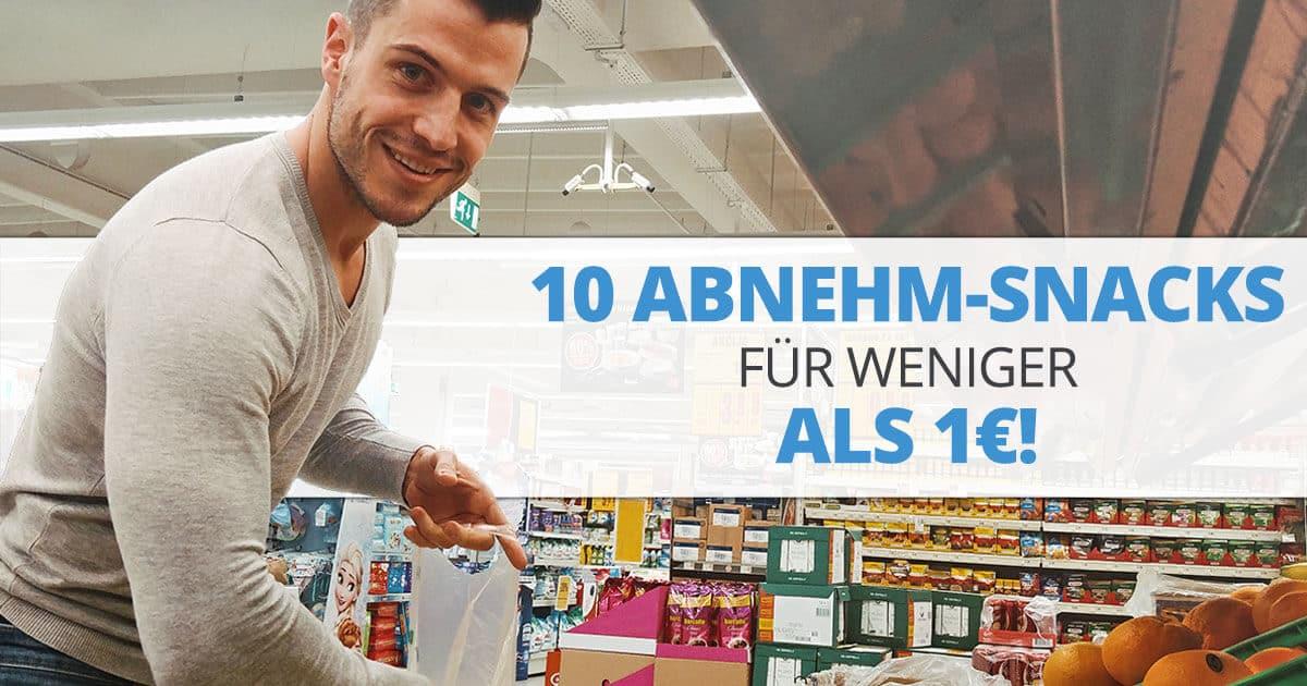 10 Abnehm-Snacks für weniger als 1€!