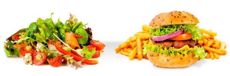 hamburger-salat