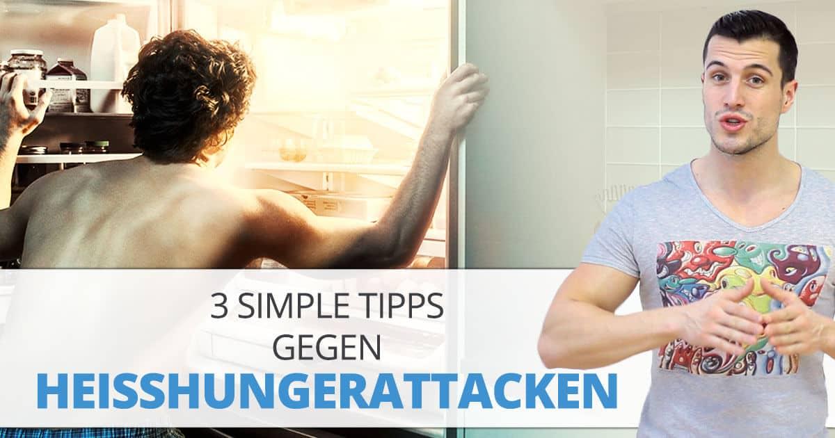 3 simple Tipps gegen Heißhungerattacken
