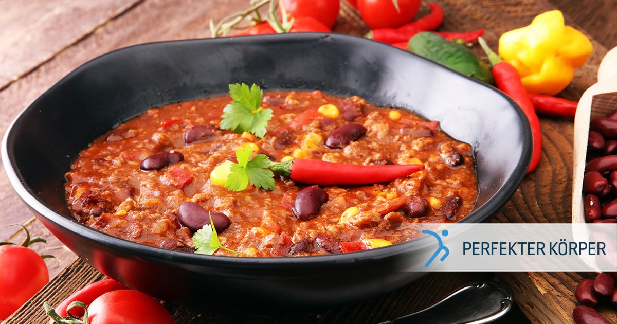 Feuriges Chili con Carne