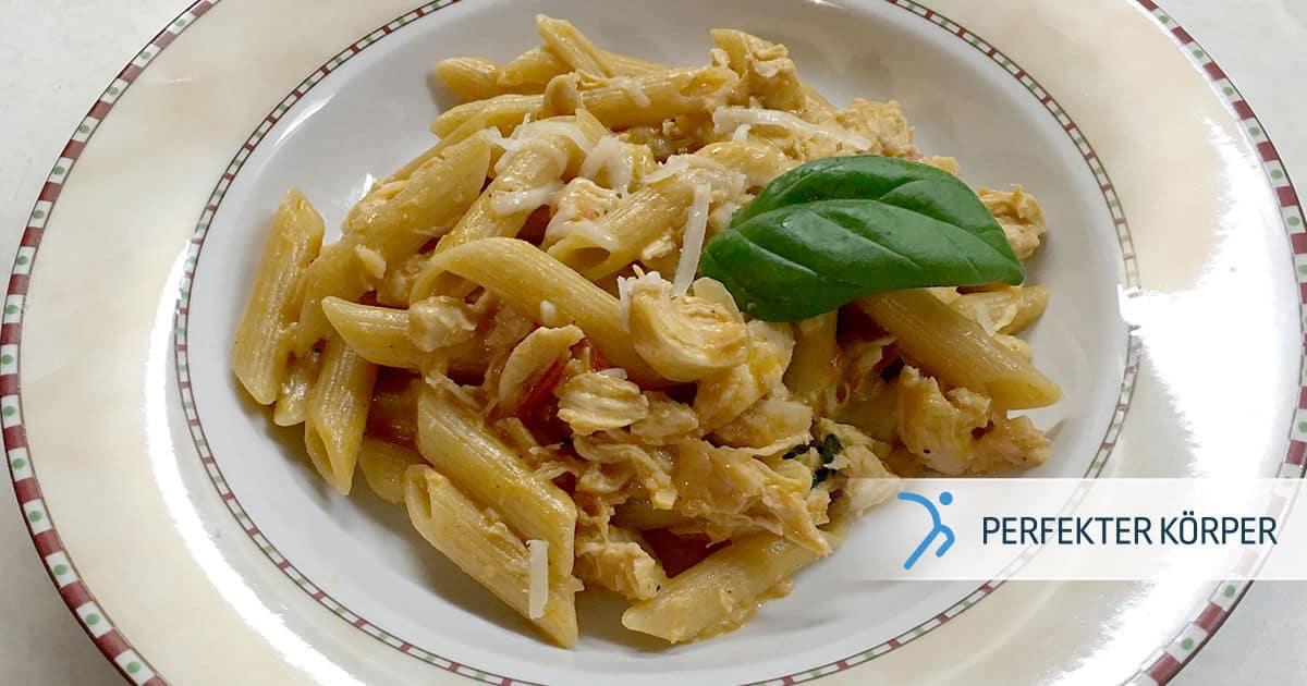 PK-rezepte-Vollkornpasta-mit-Hahnchenfleisch