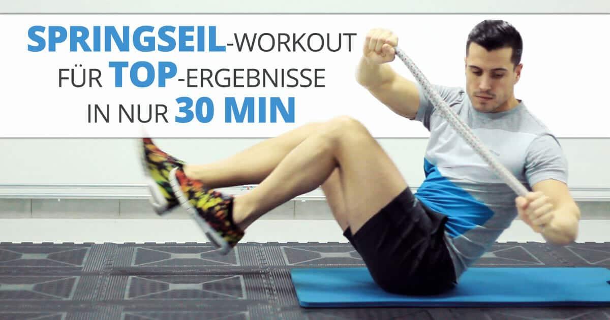 Springseil-Workout für TOP-Ergebnisse in nur 30 Min