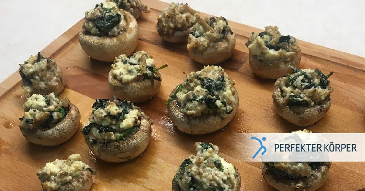 PK-rezepte-Champignons-Happchen-mit-Feta-und-Spinat