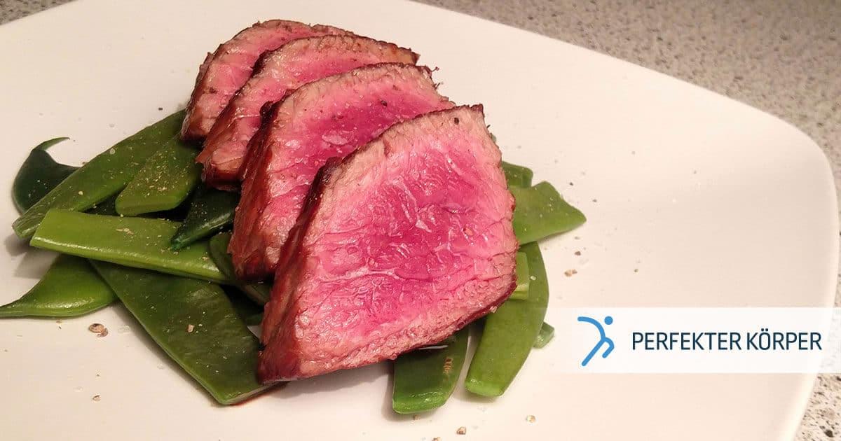 PK-rezepte-Saftiges-Steak-mit-grunen-Bohnen