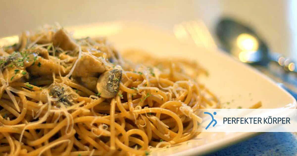 PK-rezepte-Vollkorn-Spaghetti-mit-Hahnchen-und-Champignons