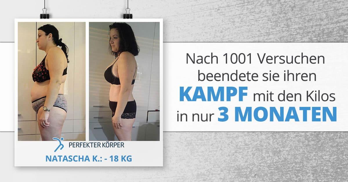 Nach 1001 Versuchen beendete sie ihren Kampf mit den Kilos in nur 3 Monaten