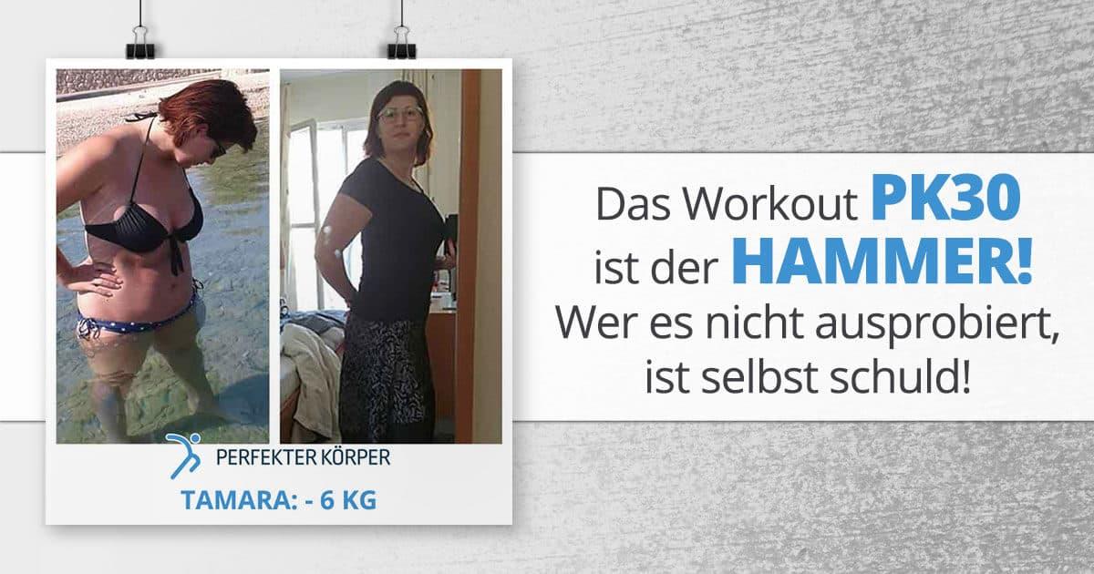 Das Workout PK30 ist der Hammer!! Wer es nicht ausprobiert, ist selbst schuld!