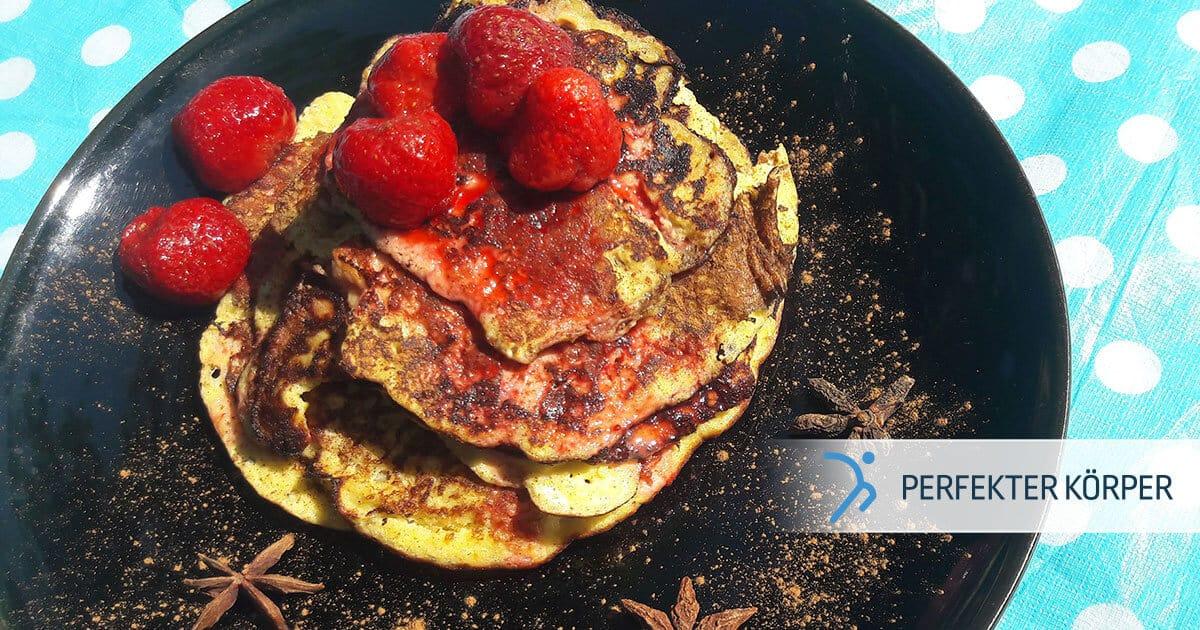 Himmlische Protein-Pancakes