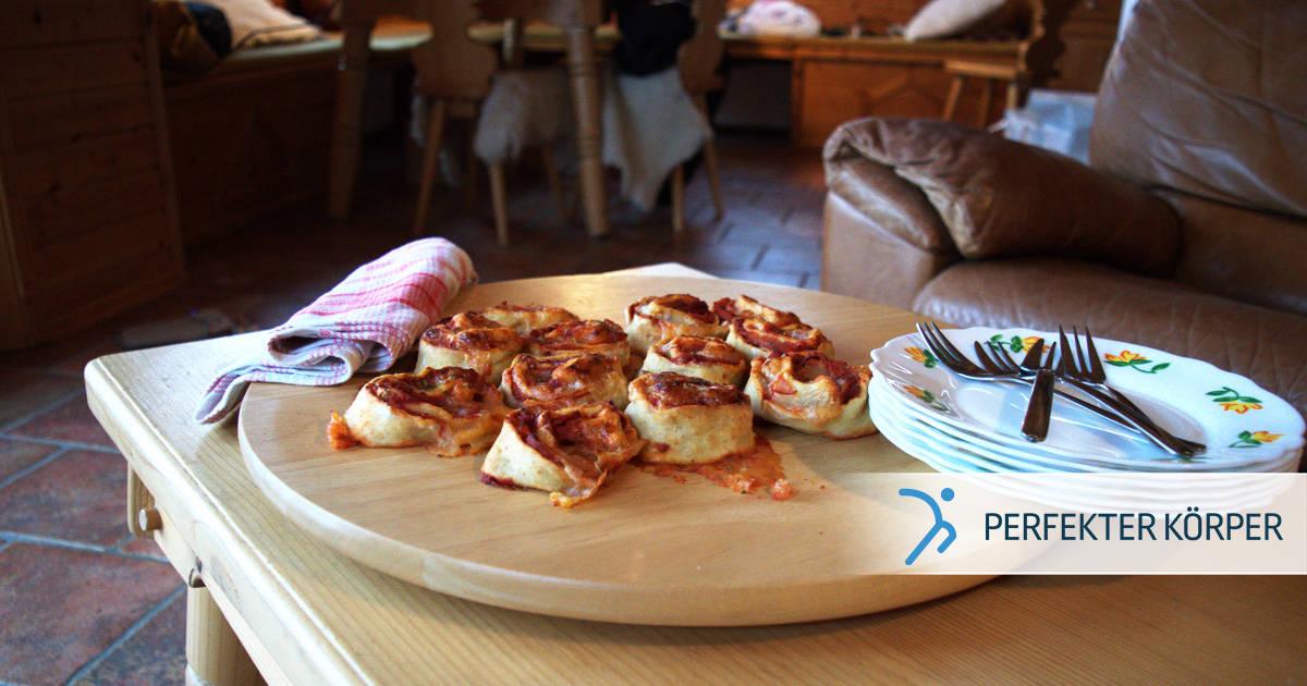 Mini Pizzabrötchen