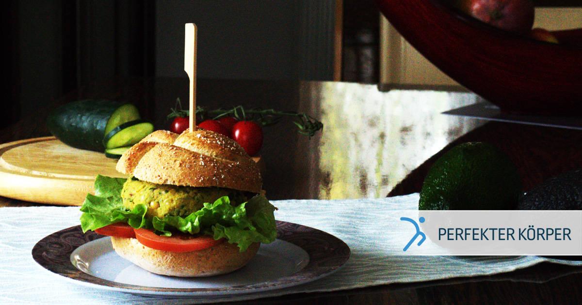 Perfekte Kichererbsen-Burger