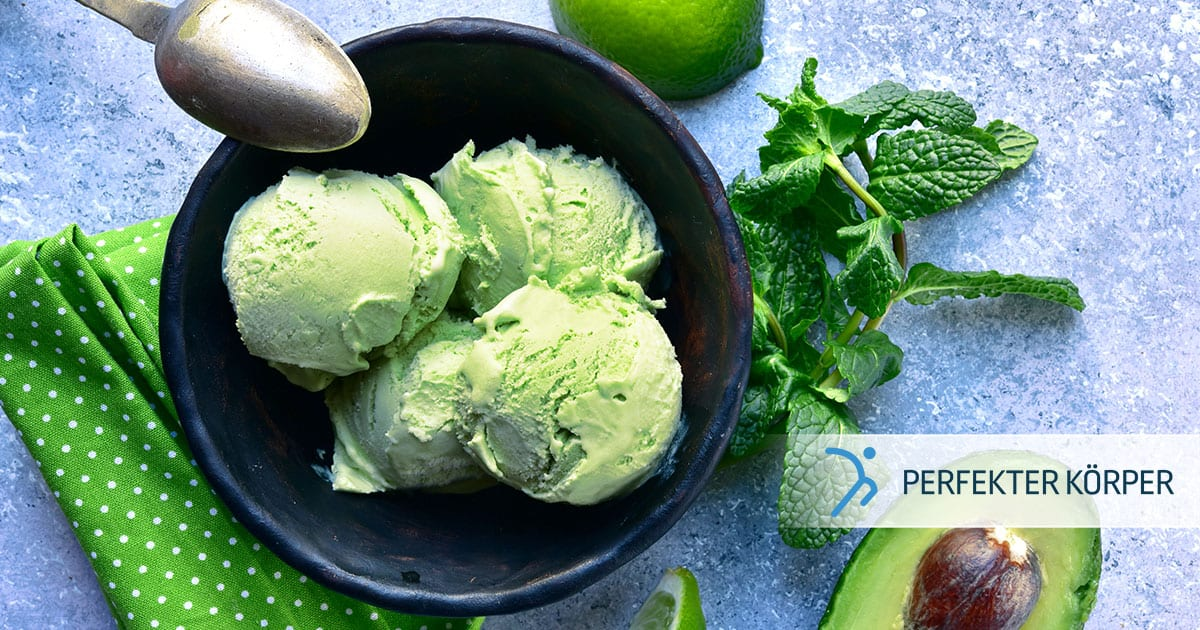 Cremiges Avocado-Eis