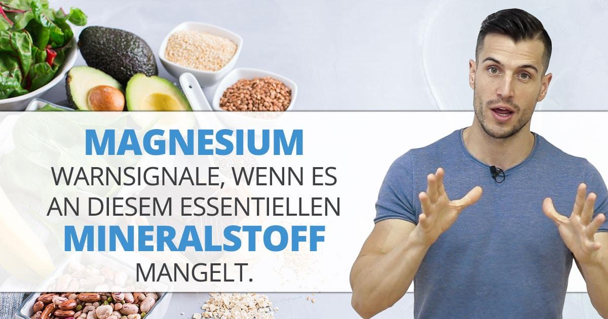 Magnesium – Warnsignale, wenn es an diesem essentiellen Mineralstoff mangelt