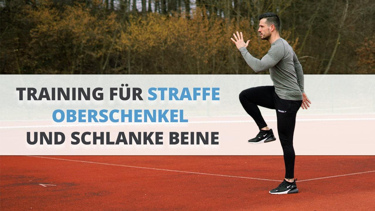 Straffe Oberschenkel und schlanke Beine: 9 TOP-Übungen für zu Hause