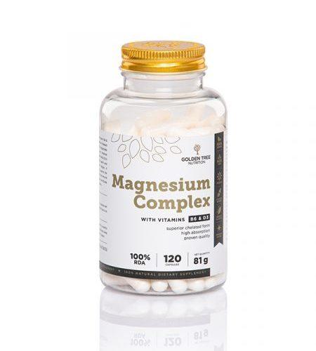 Golden Tree Magnesium Complex + Vitamin B6 und Vitamin D3