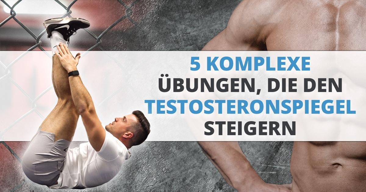 5 komplexe Übungen, die den Testosteronspiegel steigern
