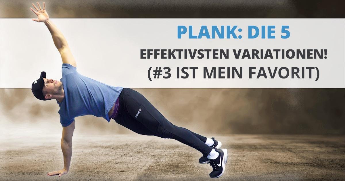 Plank: die 5 effektivsten Variationen! (#3 ist mein Favorit)