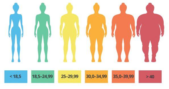 Wie wird der Body-mass-index berechnet