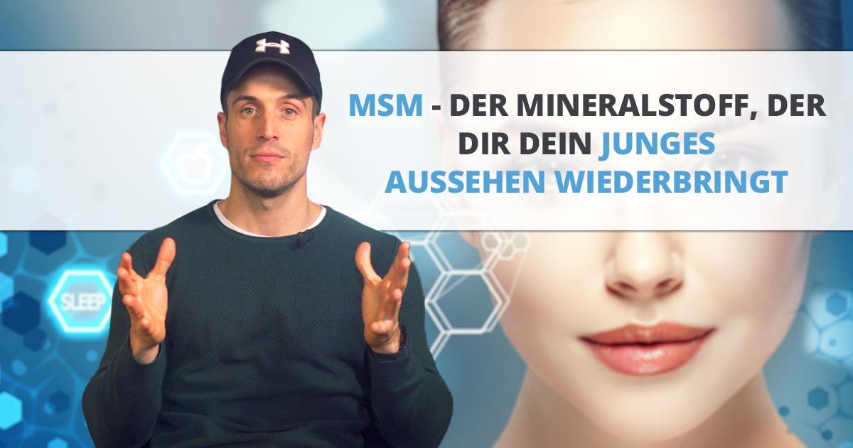 MSM – Mineralstoff für strahlend schöne Haut, starkes Haar und gesunde Gelenke