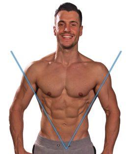 Breite Schultermuskeln Michael Gersic