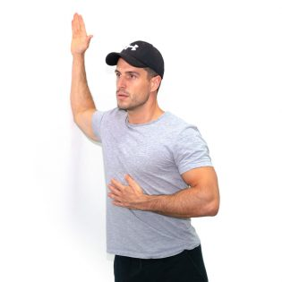 frontale arm-presse