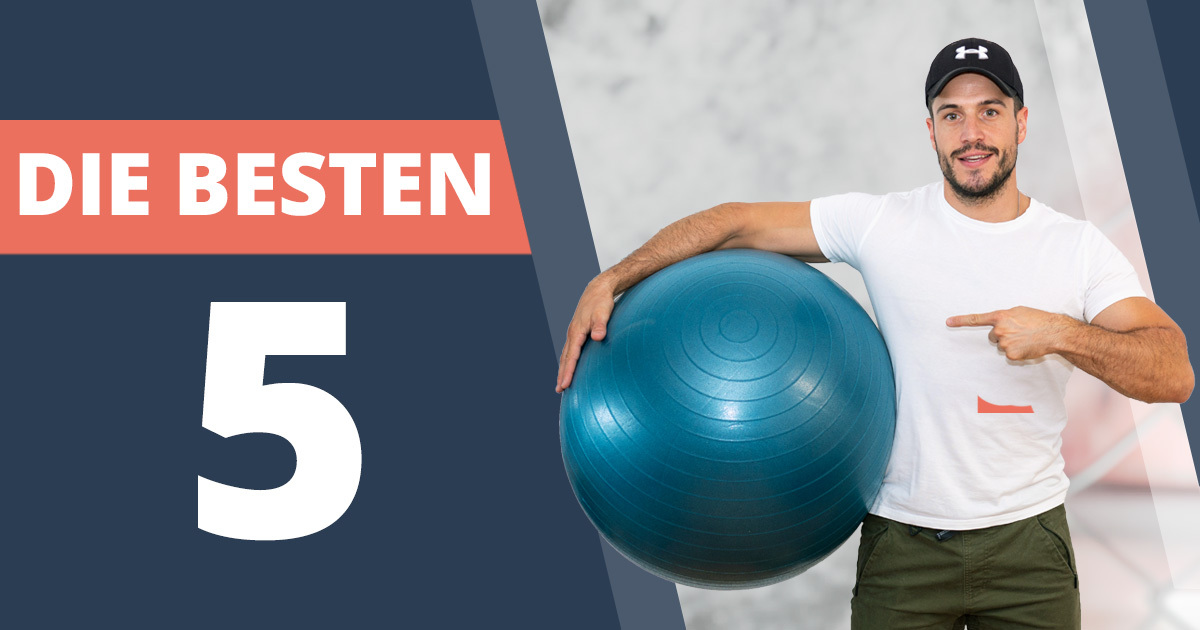 Die besten 5 Übungen mit dem Pezziball für den ganzen Körper