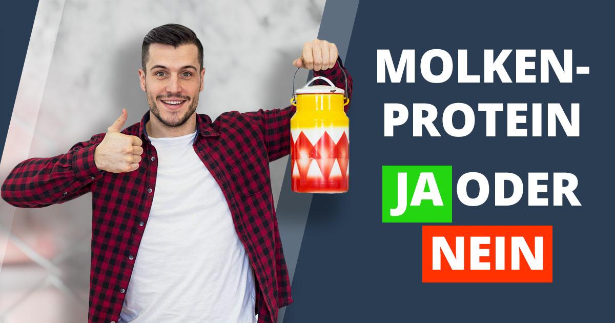 Molkenprotein – Eiweißdrink zum Abnehmen?