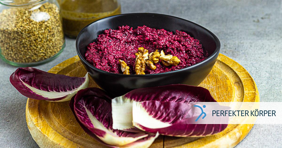 Gemüse-Aufstrich mit Roter Beete und Sesam