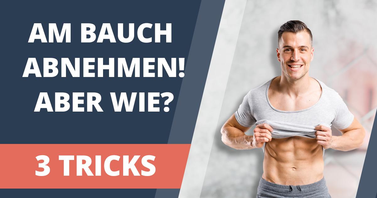 Wie kann man Bauchfett verlieren? Mindestens 1 cm / Woche