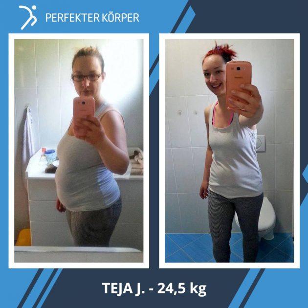 Die unglaubliche Körperveränderung der jungen Mutter Teja!