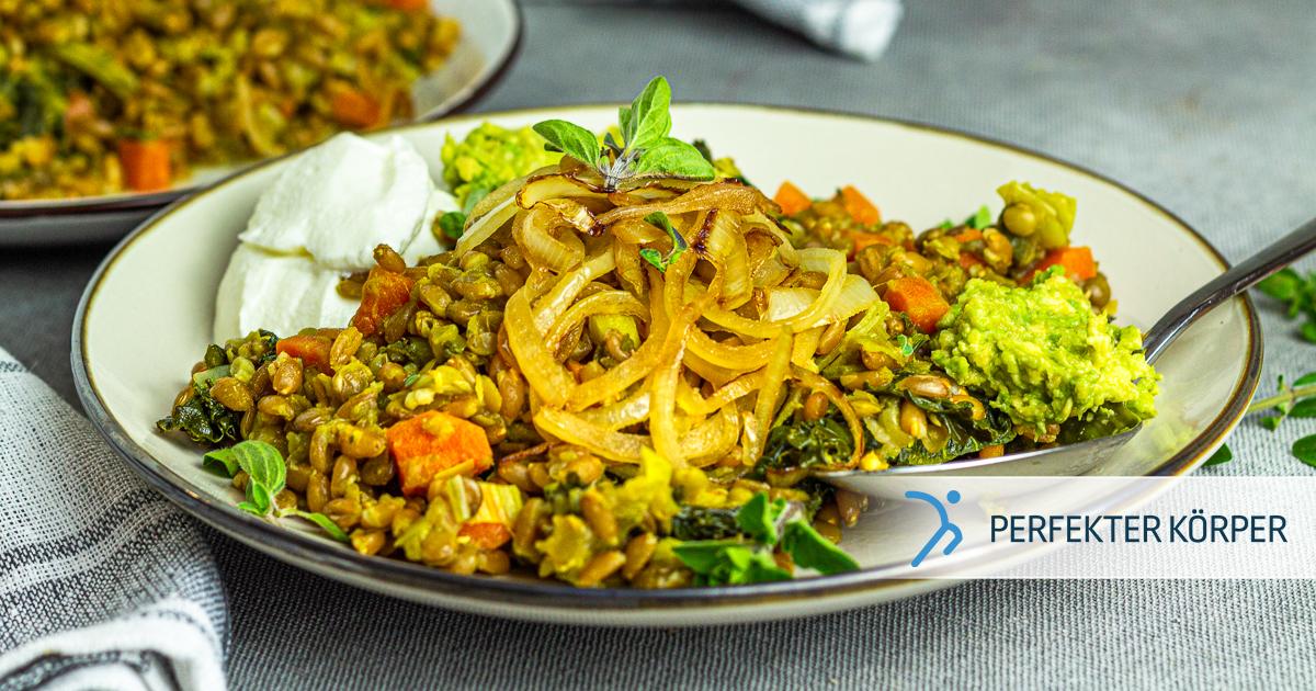 Mujadara – Arabisches Linsen-Reis-Gericht