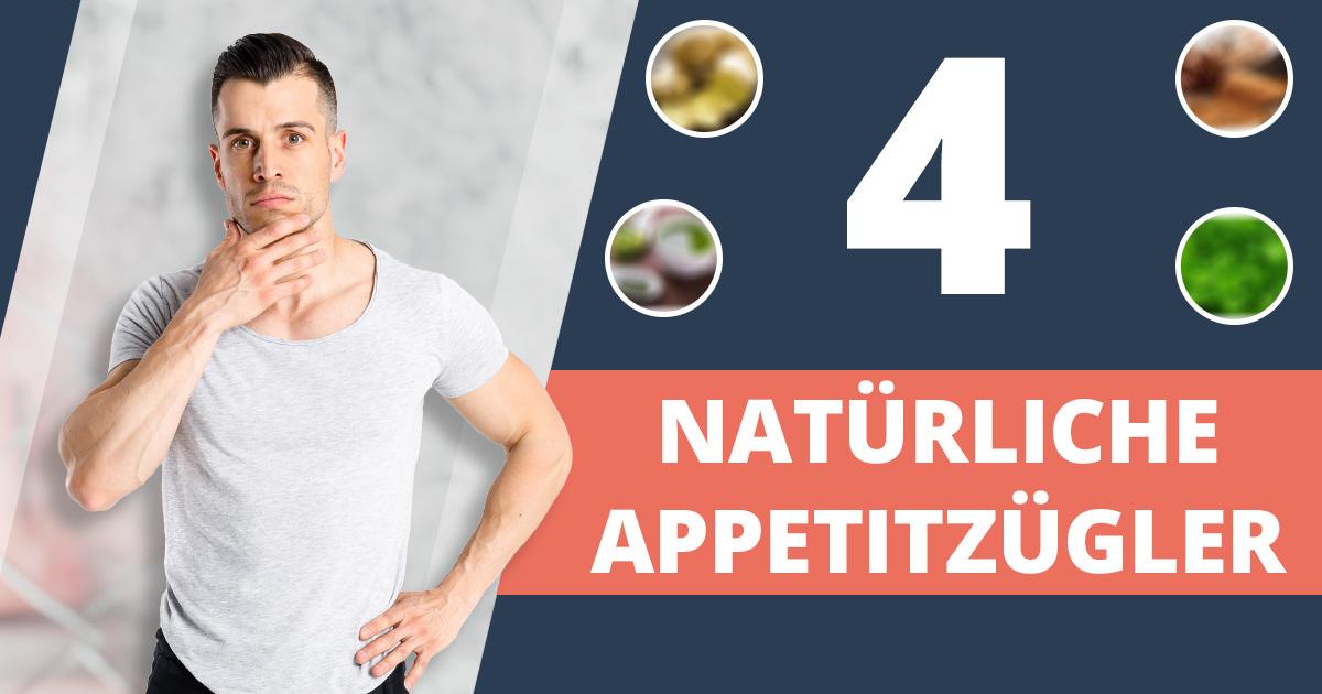 Abnehmen ohne Hunger: 4 natürliche Appetitzügler