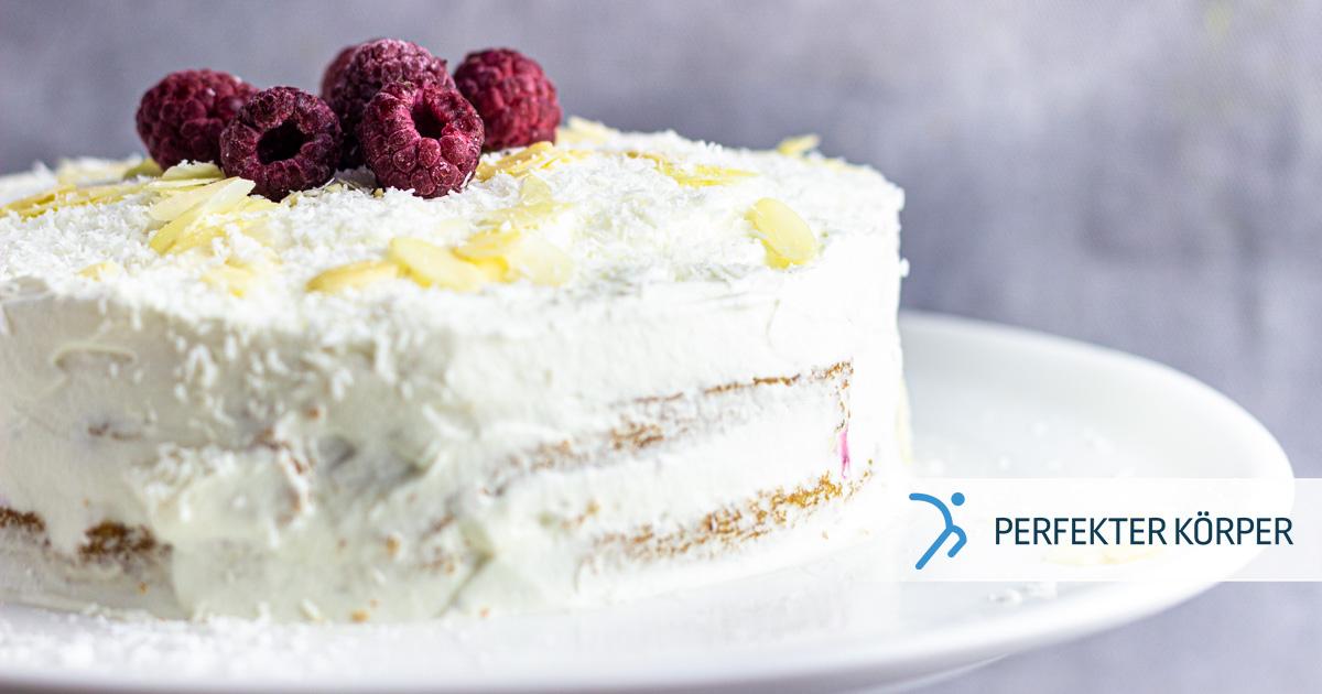 Raffaello-Torte mit Beeren