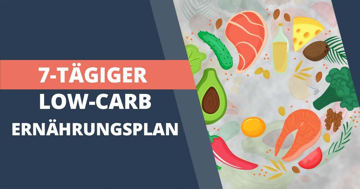 Kostenloser Low-Carb-Ernährungsplan zum Abnehmen